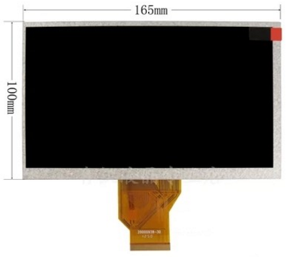 5MM AT070TN90 V.1 20000938-00 20000938-10 20000938-30 7 Inch LCD Screen With Touch Screen For Tablet Car Dvd Gps