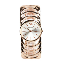 Vogue Marque Or En Acier Inoxydable Casual Montre Femmes Dames Robe Quartz Montres Relogio Feminino Horloge