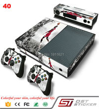 New Quality Vinyl Skin Case Cover For XBOX One Console Game Controller Top Quality Gift For Basketball Player Game Accessories