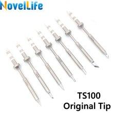 Soldering-Iron-Tip Replacement-Bit Lead-Free Ts100 Mini C4 Original BC2 C1 K D24 Digital