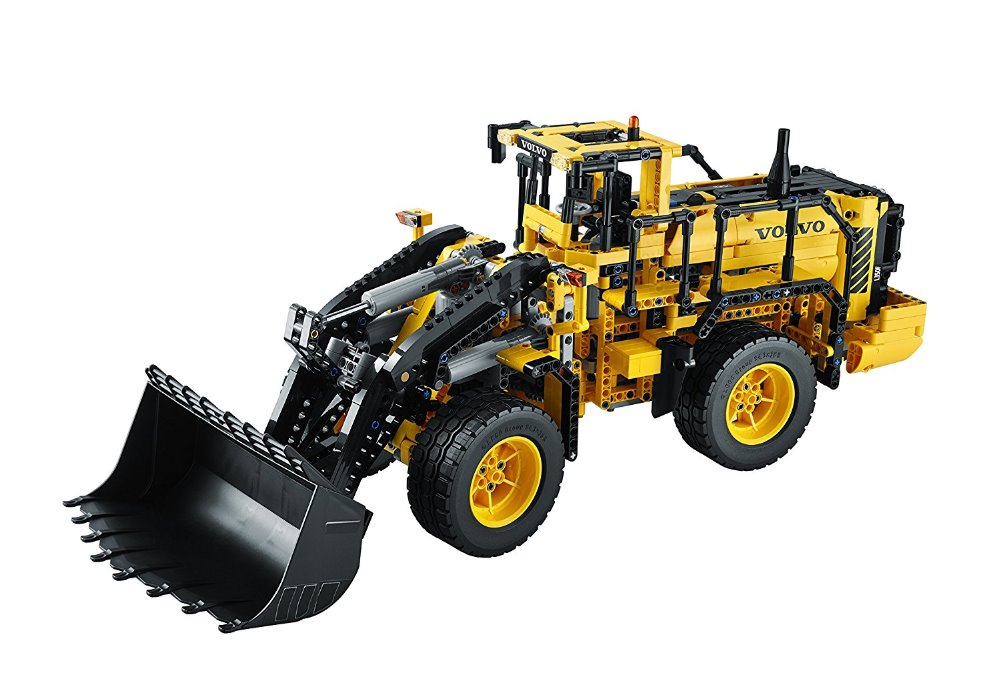 Lepin 20006 technic series The L350F wheel loader Model Building Kit Blocks Bricks Educational Kids Toys Compatible with 42030 lepin 20006 technic series volvo l350f wheel loader model building kit blocks bricks compatible with toy 42030