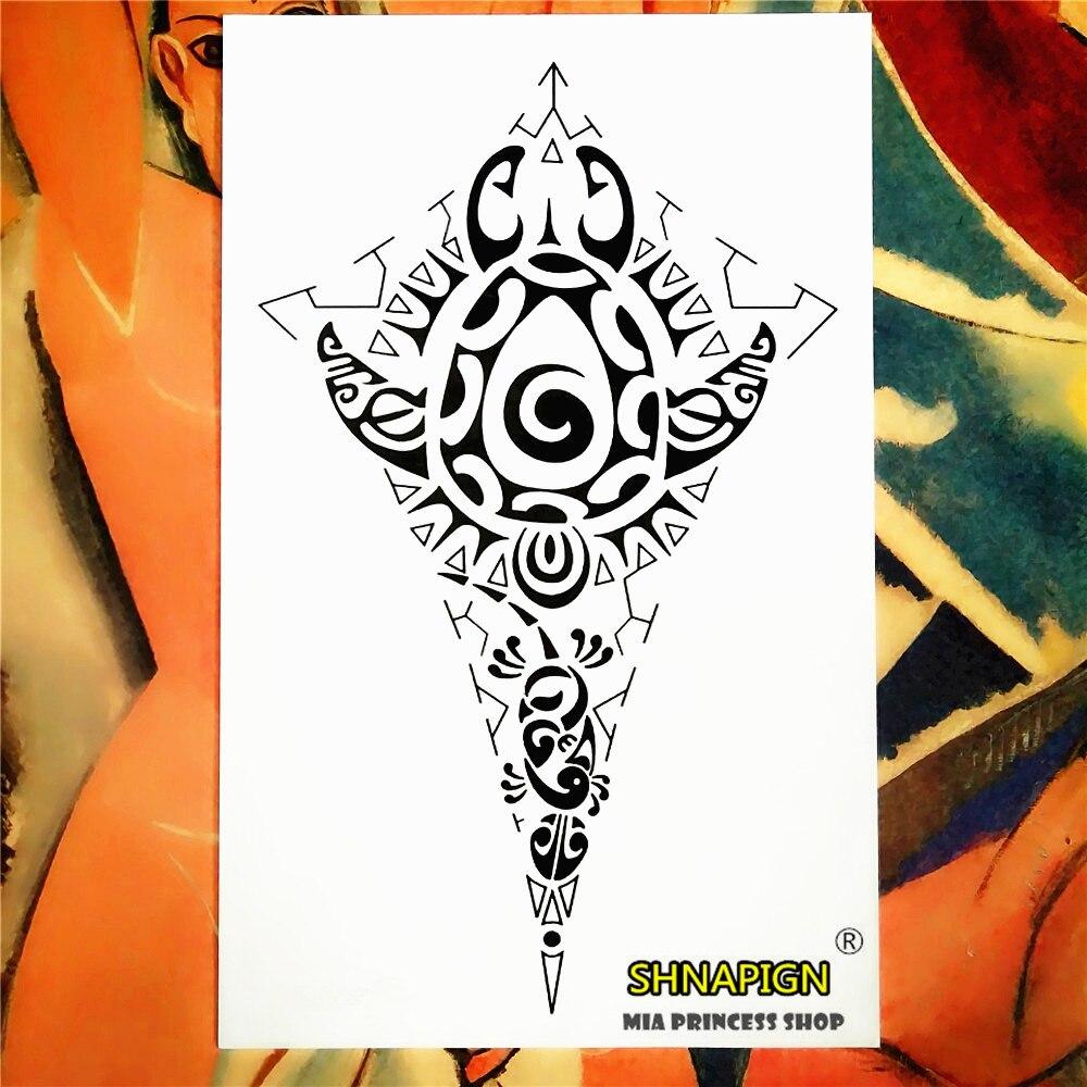 Tribal-Tattoos Indian-font-b-Tribal-b-font-Totem-Temporary-font-b-Tattoo-b-font-Body-Art-font