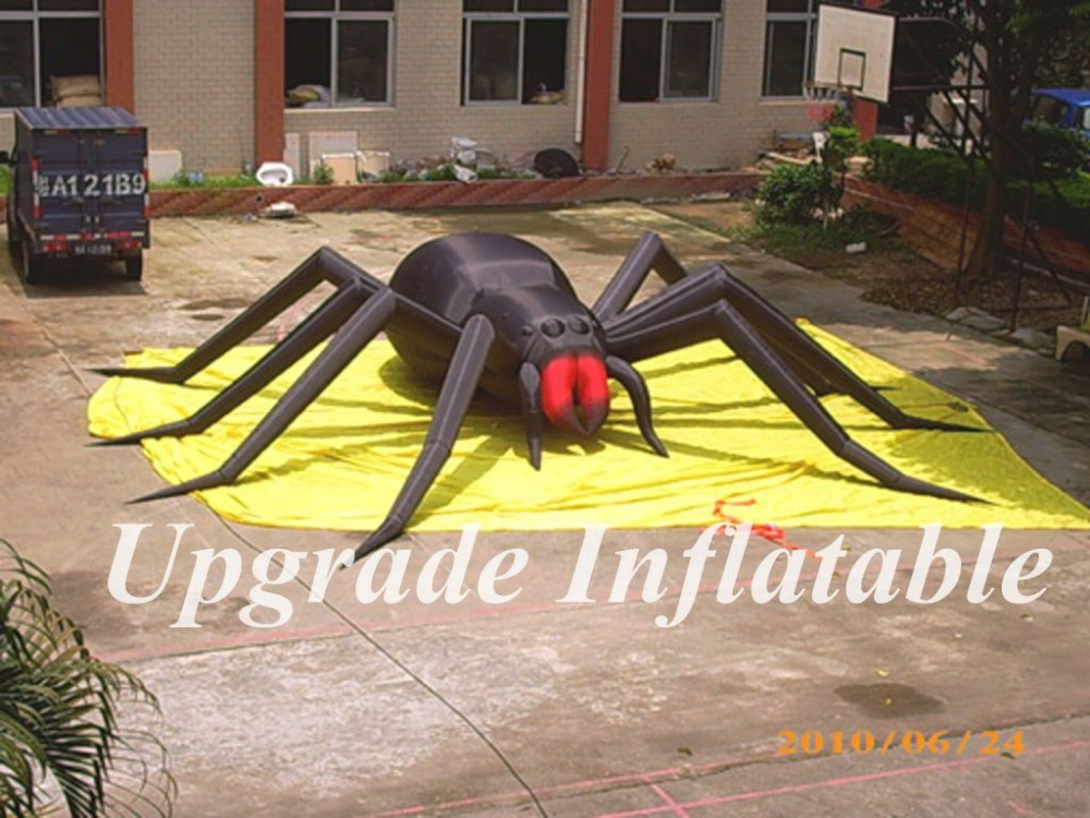 aliexpresscom buy hot sale giant 5 m wide halloween decoration inflatable spider from reliable spider halloween decorations suppliers on ace air art - Giant Spider Halloween Decoration