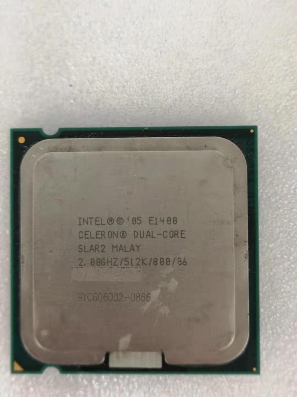Intel Core 2 Duo E1400 Desktop Processor Dual-Core 2.0GHz 512KB Cache FSB 800MHz LGA 775 E 1400 Used CPU