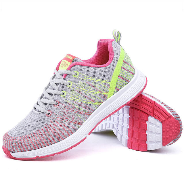 DAESPHETEL sneakers sports shoes summer running shoes Breathable net woman air