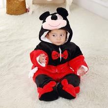 100 Cotton Newborn Baby Girls Boys Similar Winter Rompers Baby Romper Body Suit Cartoon Long Sleeve