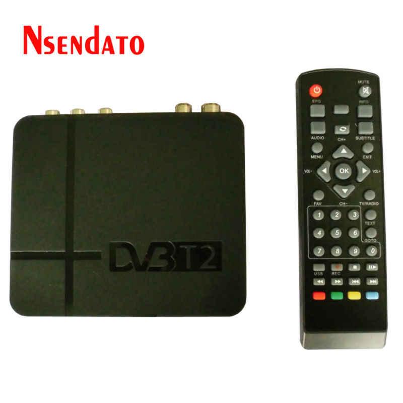 K2 DVB-T2 DVBT2 مجموعة صناديق استقبال أرضي رقمي 1080P DVB-T2 H.264 MPEG4 PVR فيديو صندوق التلفزيون مع جهاز التحكم عن بعد