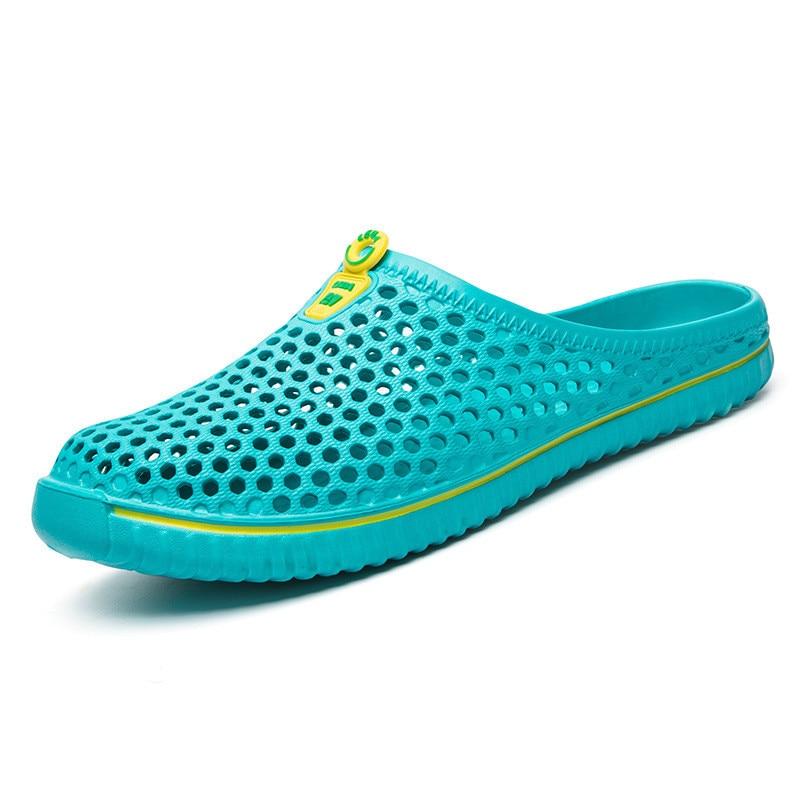 Hombres Zapatillas de Verano Zapatos 2017 Nuevo Ahueca Hacia Fuera - Zapatos de hombre - foto 6