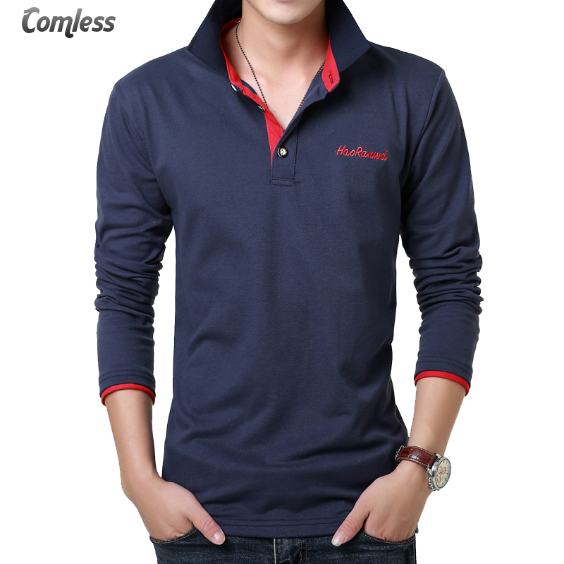 Buy 2016 new brand clothing mens polo for Cotton dress shirts for men