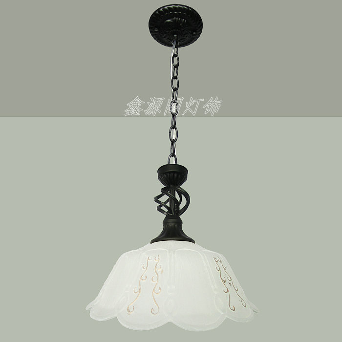 Fashion pendant light brief EMS FREE SHIPPING 2PCSdecorative lighting pendant lamp glass pendant lightS ZCL new e14 arrival nordic cage pendant lamp abstract wrought iron pendant lights candle 4 light source ems free shipping