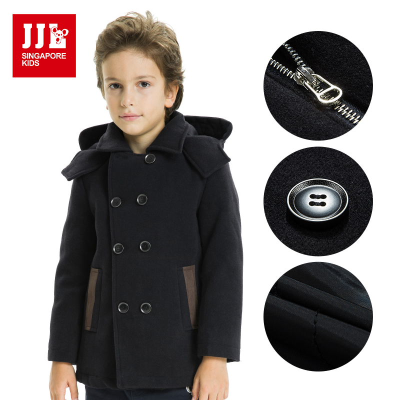 Boys winter wool coat - ChinaPrices.net