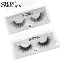 1 pair 3d Mink Lashes Natural False Eyelashes 3d Makeup Strip Mink Eyelashes Long Faux Fake Eye lashes Thick Eyelash Extension