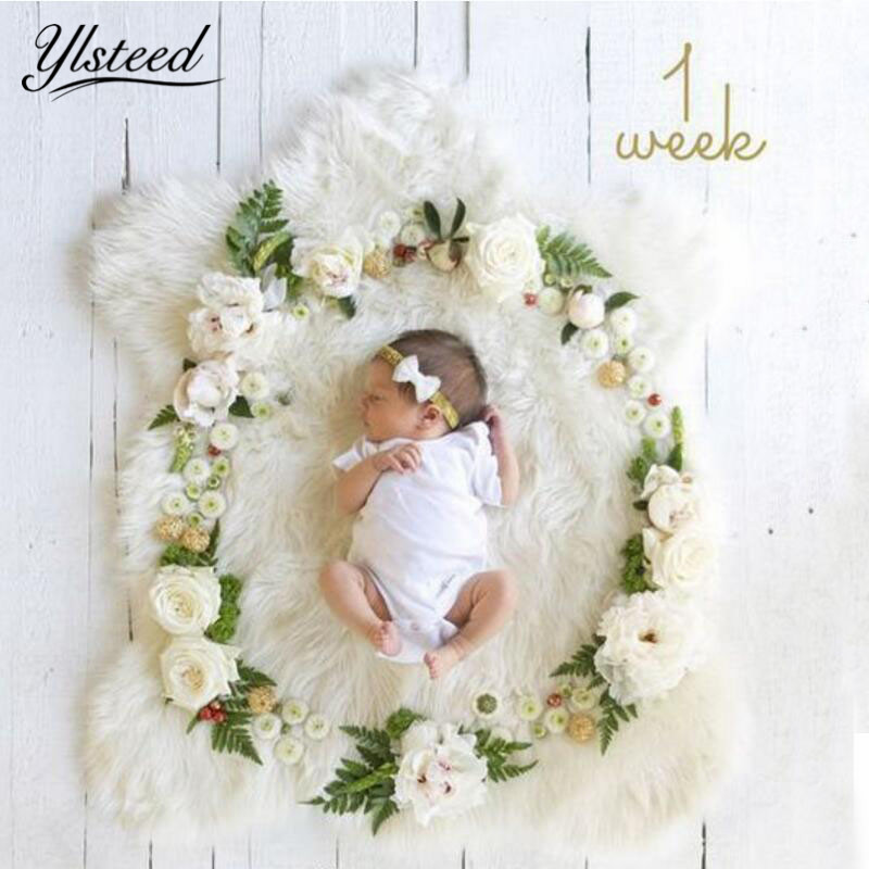 DIY Newborn Photography Props Creative Photo Props Baby Photo Shooting Backdrop Studio Photography Accessories Baby Shower Gift photography backdrop newborn wood floor photo background baby shower flower backdrop for photo studio props small size