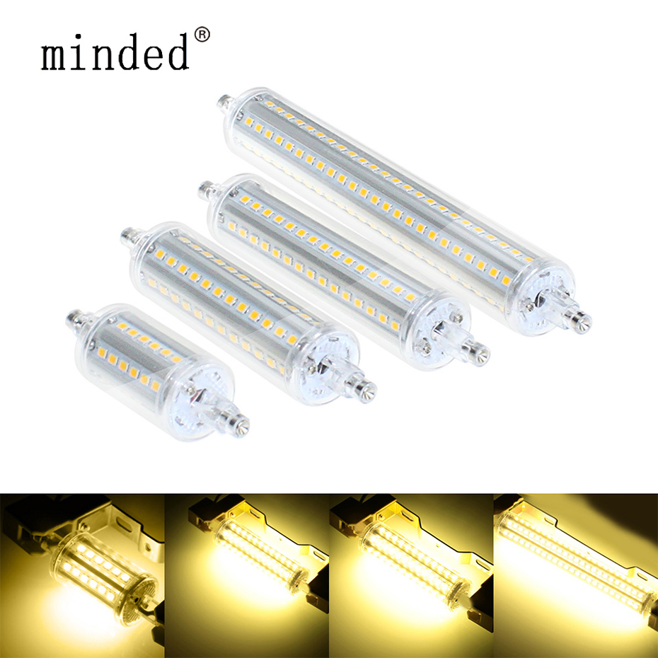 Lampadas  R7S LED Bulb Lamp 2835 SMD 5w 8w 10w 13w LED Corn Bulbs 360 Degree 78 118 135 189mm AC85-265V Lantern Replace Halogen