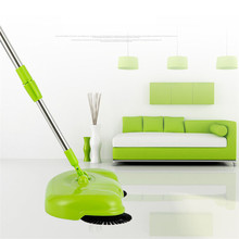 Discount! Zero New Arrival 360 Rotary Home Use Crab Manual Telescopic Floor Dust Sweeper 170426