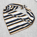 [Ode To Joy] New Arrival Women geometric Print oil painting square silk scarf women striped shawls 50*50cm good quality