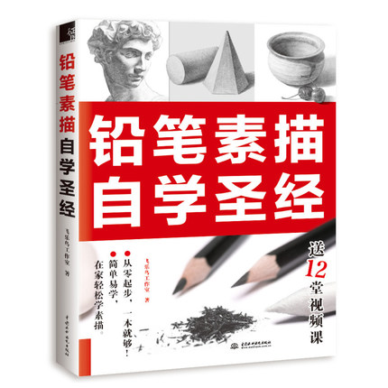 Bible book for learning Pencil Sketch Painting by self -study Chinese Drawing textbook Students Tutorial art book