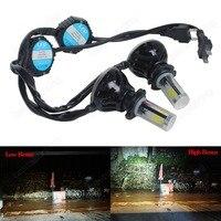 2pcs H7 High Power 40W COB LED White Headlight Daytime Light No Error Audi Mini CA242