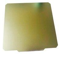 Nueva actualización energética impresora 3D cama de calor 300*300mm  resorte flexible de acero PEI placa de construcción Compatible con CR-10  cama caliente 10S