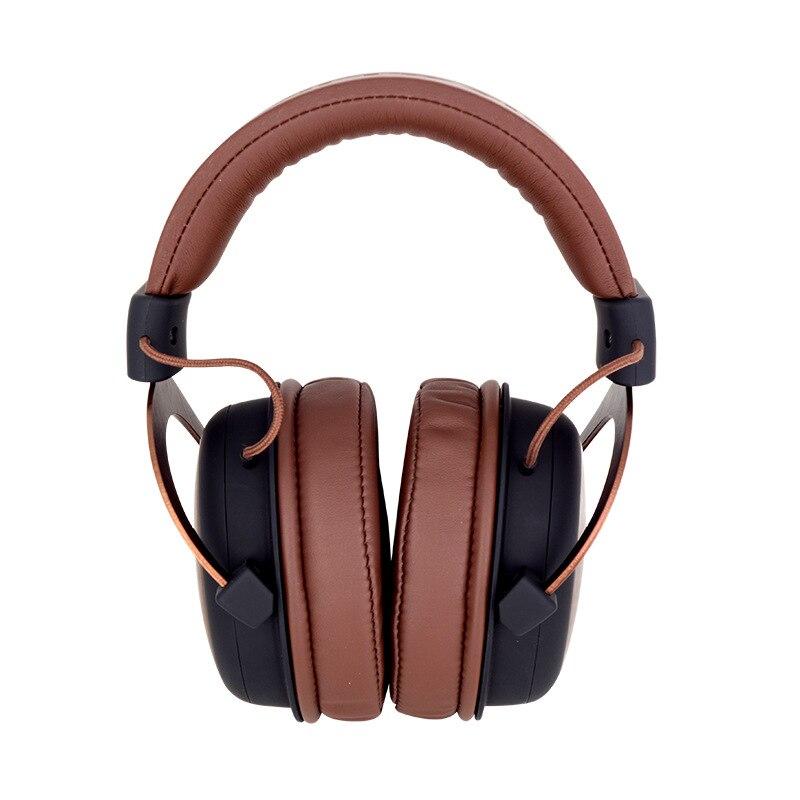 Image 2 - Genuine ISK MDH8500 Headphone HIFI Stereo Fully Enclosed Dynamic Earphone Professional Studio Monitor Headphones Hifi DJ Headset-in Headphone/Headset from Consumer Electronics