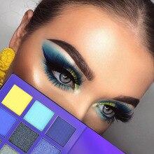 Makeup Eyeshadow Palette 9 Colors, Diamond Brighten Pigment Eye Shadow
