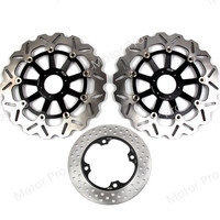 For Honda VTR F FIRESTORM 1000 1997 2007 Front Rear Brake Disc Disk Rotor Kit Motorcycle VTR1000F 1998 1999 2000 2001 2002