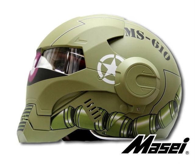 New Masei Storm Trooper Modular DOT Approved Matt Green