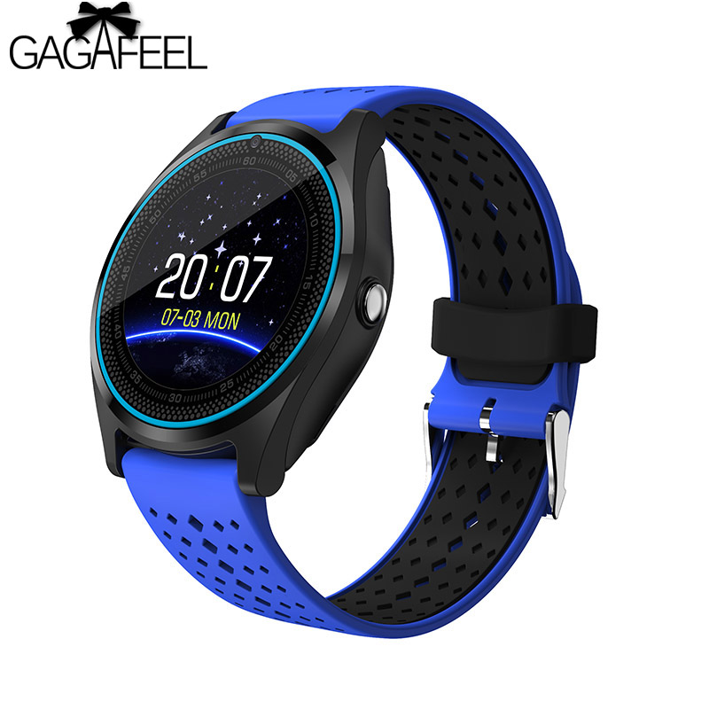 GAGAFEEL SIM Card Smart Watch for Android IOS Camera Wristwatch Woman Man Sport Dial Call Clock wireless service call bell system popular in restaurant ce passed 433 92mhz full equipment watch pager 1 watch 7 call button