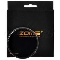 Zomei 52mm Ultra Slim Gold Coating Glass MC CPL Circular Polarizer Lens Filter Free Shipping