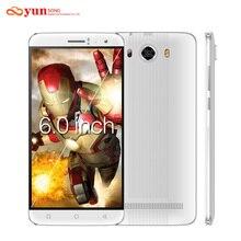 2017 yunsong s10 плюс 6.0 дюймов qhd мобильного телефона 16.0mp mtk6580 quad core dual sim разблокирована сотовый телефон gsm/wcdma 3 г смартфон