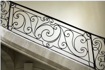 Hench 100 Handmade Forged Custom Designs Outdoor Metal Stair | Outdoor Metal Stair Railing | Ornamental | Banister | Custom | Urban Metal Deck | Garden