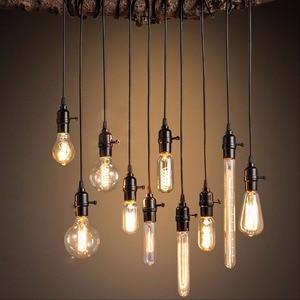 Image 4 - الرجعية اديسون لمبة E14 T20 T25 T26 2 واط 3 واط 4 واط Led مصباح شمعة فتيل إضاءة توفير الطاقة الزجاج لمبة Lampada المنزل الإضاءة