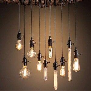 Image 4 - Retro Edison Bulb E14 T20 T25 T26 2W 3W 4W Led Lamp Candle Light Filament Energy Saving Glass Bulb Lampada Home Lighting