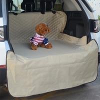 Car Pet Trunk Mat Tarpaulin Waterproof Oxford Cloth Dog Cat Back Seat Covers Rear Auto Pad Car Protection Blanket