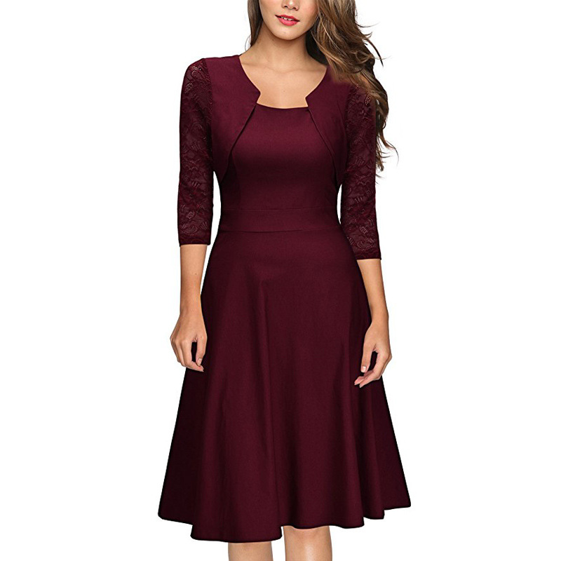 Beauty Emily 2019 Short Formal Dress Elegant Mother of the Bridal Dresses vestido de noite Burgundy Wedding Party Prom Dresses