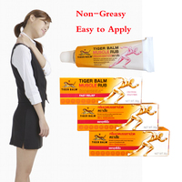 Tiger Balm Neck Shoulder Rub Non Greasy Cream for Neck Pain Relief Easing Shoulder Ache Relief Tired Aching Stress