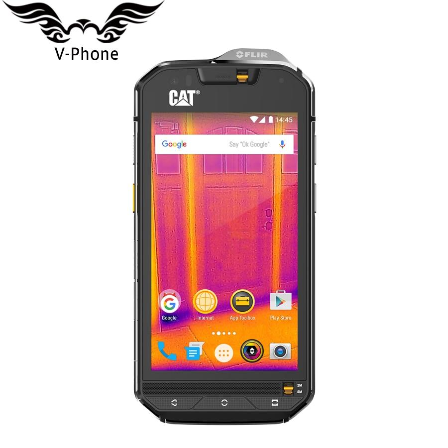 IP68 Waterproof Dropproof Dustproof Mobile Phone 3800mAh 4G LTE CAT S60 Dustproof  4.7