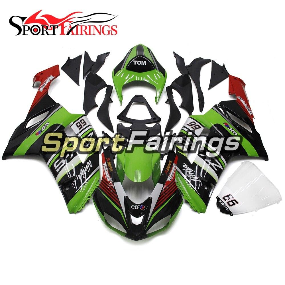 Fairings Body Work Motorcycle Parts Fairings For Kawasaki Zx6r Zx