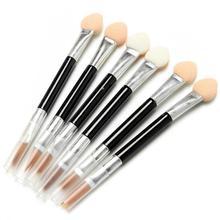 10Pcs Lot Makeup Brushes Double Head Eye Shadow Brush Lip Brush Disposable Sponge Makeup Tools For