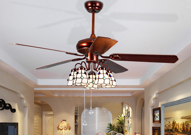 Indoor Decorative Ceiling Fan Light