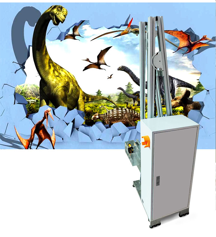 Vertical Wall Painter Outdoor Machine 3d HD TV Wall Printer Manufacturer Supply