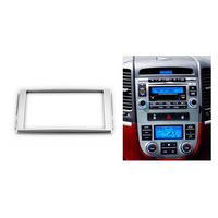 Dubbele Din Stereo Panel voor HYUNDAI Santa Fe 2006-2012 Fascia Radio DVD Dash Montage Installatie Trim Kit Gezicht Frame