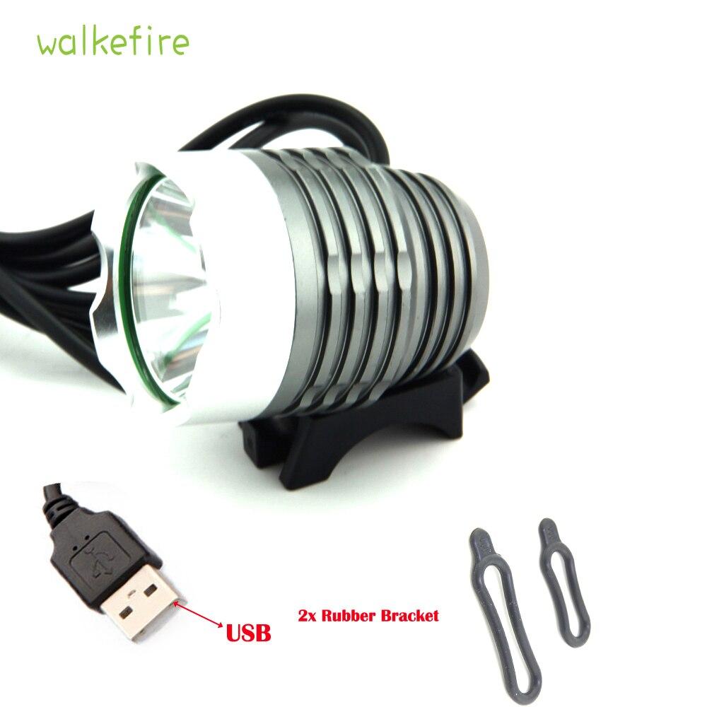 Luces Led Bicicleta USB 1200 Lumen  XM-L T6 LED Bicycle Headlight Waterpoof Bike Light Lamp Cycling Bike Bicycle Front Light