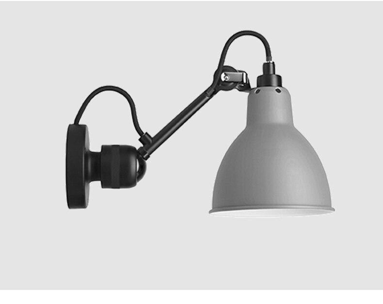 Moderno ajustável longo braço oscilante luzes da