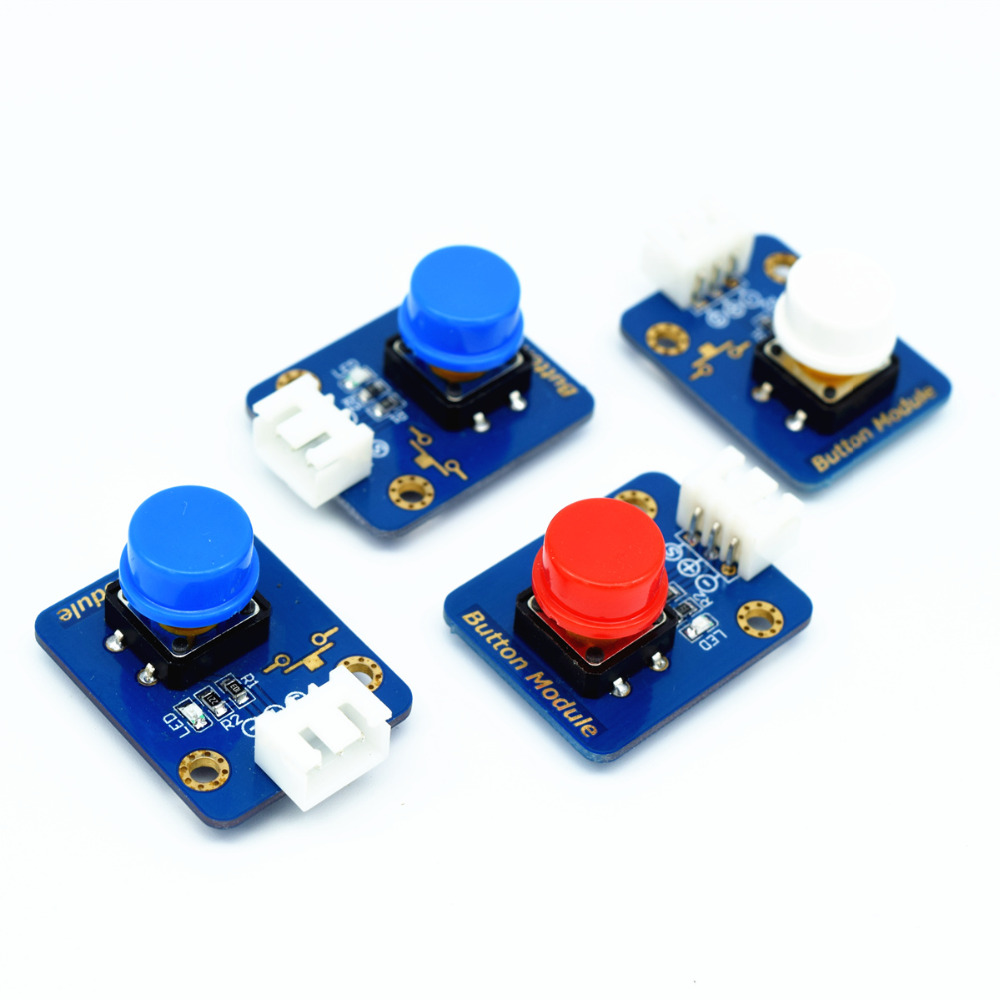 Adeept New 4pcs Digital Push Button Keypad Module for Arduino Raspberry Pi ARM AVR DSP PIC Freeshipping headphones diy diykit ds3231n raspberry pi rtc board real time clock module for arduino red