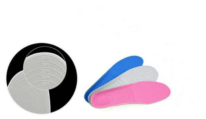 1 par sapatos ortopédicos acessórios palmilhas ortopédicas espuma de memória esporte suporte inserção mulher homens pés solas almofada