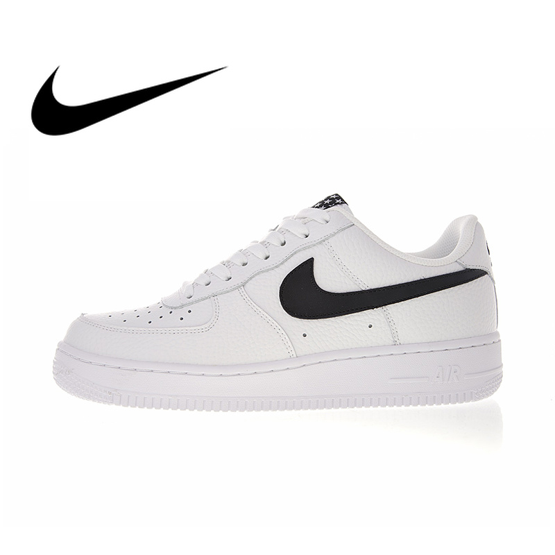 US $71.82 62% OFF|Origina Nike Air Force 1 Men's Skateboarding Shoes Cozy Classic Leisure High top Anti slip White Sneakers new designer 315123 on