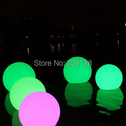 20cm switch and remote control rechargeable led floating ball on swimming pool remote service discovery and control