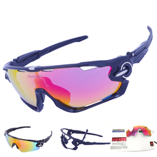 SALE ! 3 Lens Mens Polarized Brand Cycling Glasses Mountain Bike Goggles Sport MTB Eyewear Bicycle Sunglasses Tour De France