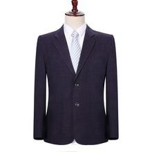 WAEOLSA Mens Blazers Elegance Jackets Suits 2 Buttons Top Fly Man Smart Casual Blazer Masculino Office Outfits Male Garment 4XL